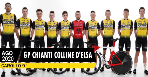 Carollo 9° nel GP Chianti Colline d'Elsa