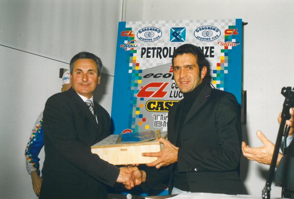 2005 Carlo Palandri con Franco Ballerini