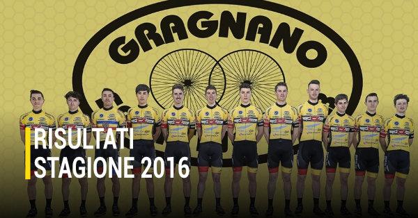 Risultati Stagione 2016 Gragnano SC