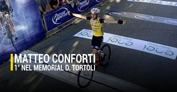 Matteo Conforti vince il memoria Daniele Tortoli